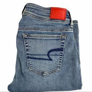 AMERICAN EAGLE Kick Boot Super Stretch Jeans 4Long